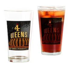 4 Queens Las Vegas Pint Glass