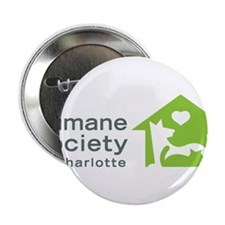 """Humane Society of Charlotte 2.25"""" Button"""