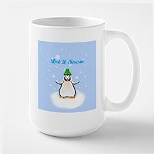 Let it Snow Penguin Mug