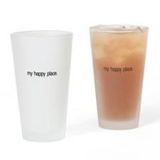 My Happy Place Pint Glass