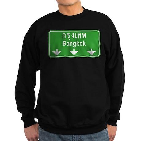 Bangkok Ahead Thai Sign Sweatshirt (dark)