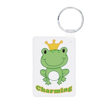 Charming (Frog) Aluminum Photo Keychain