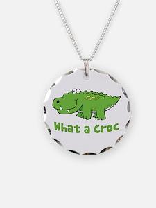 What a Croc Necklace