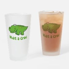 What a Croc Pint Glass