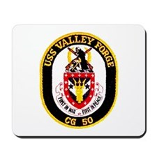 USS Valley Forge CG 50 Mousepad