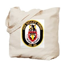USS Valley Forge CG 50 Tote Bag