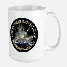 USS Thomas S. Gates CG 51 Mug