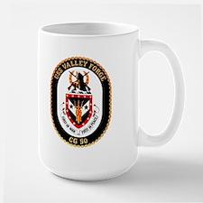 USS Valley Forge CG 50 Mug
