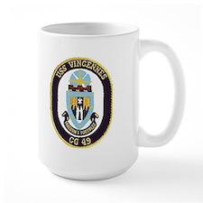 USS Vincennes CG 49 Mug