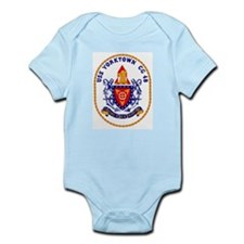 USS Yorktown CG 48 Infant Creeper