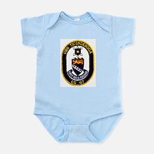 USS Ticonderoga CG 47 Infant Creeper