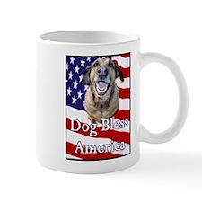 Dog Bless America Mug