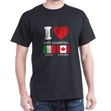 ITALY-CANADA T-Shirt