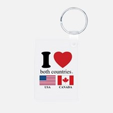 USA-CANADA Keychains