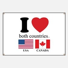 USA-CANADA Banner