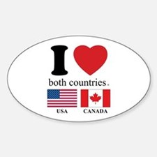 USA-CANADA Decal