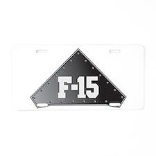 Cute F 15 eagle Aluminum License Plate