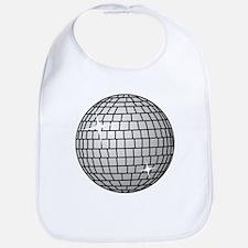 70's Disco Ball Bib