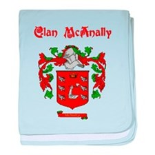 Clan McAnally baby blanket
