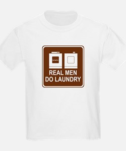 Real Men Do Laundry T-Shirt