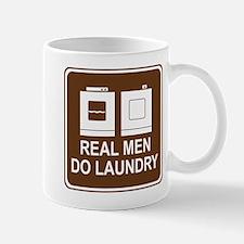 Real Men Do Laundry Mug