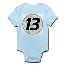 """""""Lucky 13""""  Infant Creeper"""