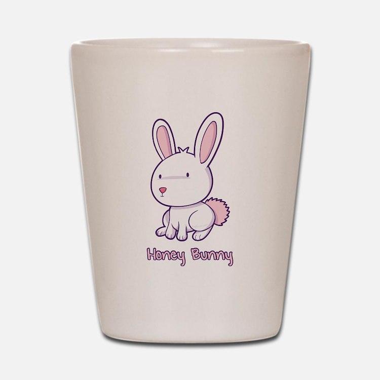 Honey Bunny Shot Glass