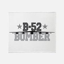 B-52 Aviation Throw Blanket