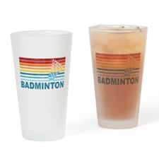 Badminton Pint Glass