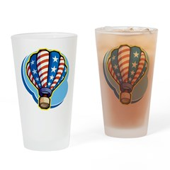 Hot Air Balloon Pint Glass