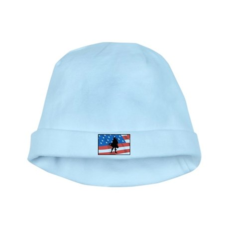 Bagpiper In America baby hat