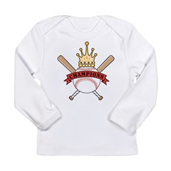 Baseball Champion Long Sleeve Infant T-Shirt