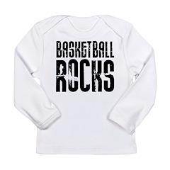 Basketball Rocks Long Sleeve Infant T-Shirt