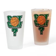 Basketball Got Game? Drinking Glass