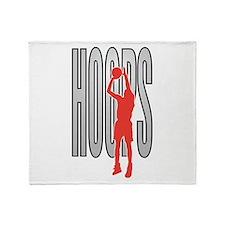 Hoops Throw Blanket