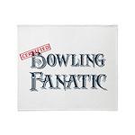 Bowling Fanatic Throw Blanket
