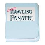 Bowling Fanatic baby blanket