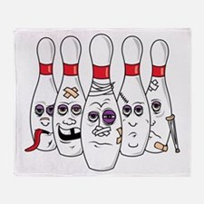 Funny Pins Throw Blanket