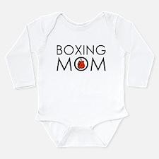 Boxing Mom Long Sleeve Infant Bodysuit