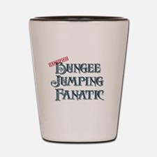 Bungee Jumping Fanatic Shot Glass