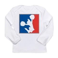 Cheerleading Long Sleeve Infant T-Shirt