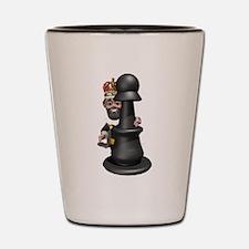 Cute 3D Chess Shot Glass