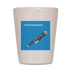 iContrabassoon Shot Glass
