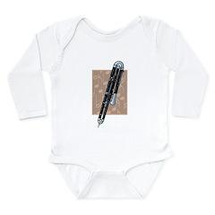 Contrabassoon Long Sleeve Infant Bodysuit