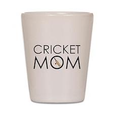 Cricket Mom Shot Glass