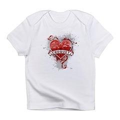 Heart Croquet Infant T-Shirt