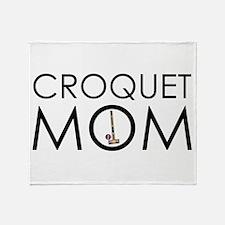 Croquet Mom Throw Blanket