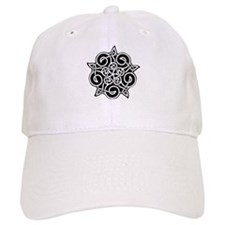 Celtic Knotwork Pentagram Baseball Cap