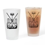 Croquet Pint Glasses