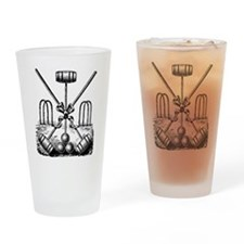 Hand Sketched Croquet Pint Glass